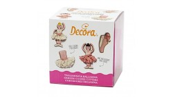 Kit 4 Tagliapasta Ballerie - per realizzare e decorare biscoti torte e dolci