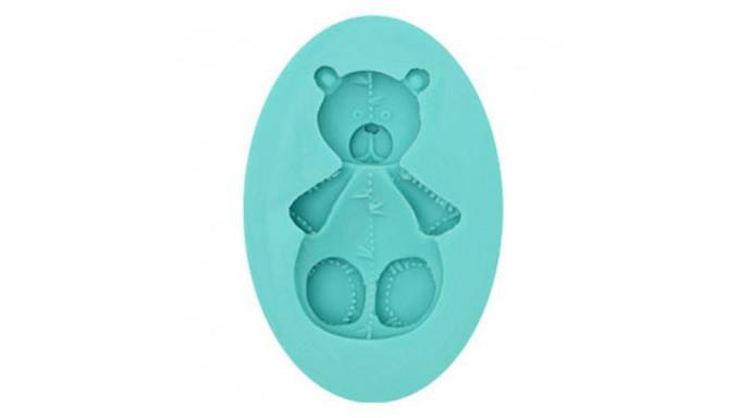 Stampo in Silicone ORSO orsetto - per decorazioni in pasta di zucchero, gesso ecc.