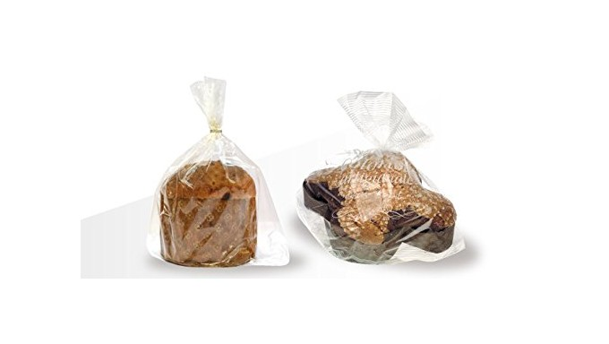 20x BUSTE sacchetti plp per Panettone e COLOMBA (500 gr, 750 gr, 1000 gr)