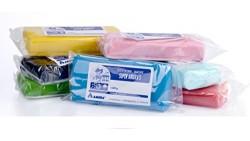 Pasta di zucchero 1KG - Fondente - da copertura per torte e dolci - BLU/CIANO