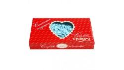Confetti CUORICINI mignon CELESTE 1kg al cioccolato