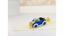 Biglietto d'auguri Origamo Matrimonio 3D - VIVA GLI SPOSI