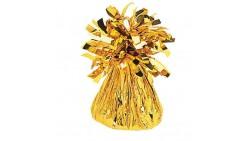 Pesetto PESO centrotavola Ciuffetto colore ORO - ideale per Palloncini ad Elio