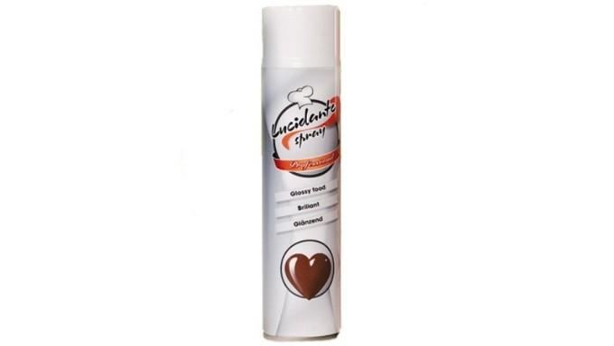 LUCIDANTE alimentare spray per CIOCCOLATO, pasta di zucchero ecc.- 400ml