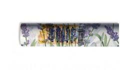 Tovaglia ROTOLO in TNT Fantasia fiori LAVANDA 7x1,40mt - tessuto non tessuto