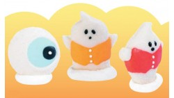 personaggio HALLOWEEN  in zucchero per decorazione torte - 1 pezzo casuale
