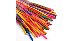 100 pezzi - pallone, Palloncini modellabili, LATTICE colori assortiti
