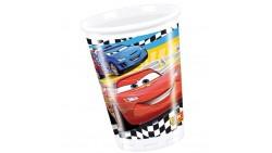 8 Bicchieri CARS 200ml - addobbo decoro tavolo torta - Saetta McQueen
