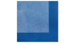 20 TOVAGLIOLI in carta - Bicolor Celeste Blu - addobbo decoro tavola