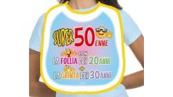 La BAVAGLIA del super 50 ENNE - gadget per il compleanno di 50 anni