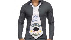 cravatta CRAVATTONE della LAUREA - gadget per festa del LAUREATO
