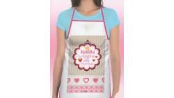 Il Grembiule per la mia MAMMA - grembiule da cucina, utile e pratico idea regalo Festa della Mamma