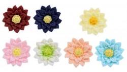 Fiore Daliette in ZUCCHERO - decorazione torte e dolci - 1 Pezzo Casuale