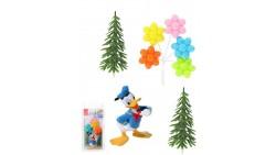 Kit TOPPER PAPERINO decorazione per TORTE e DOLCI walt Disney