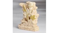 Medaglione TOPPER per torta COMUNIONE UNISEX - calice, pane, corpo di cristo, spiga
