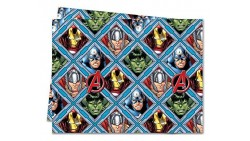 Tovaglia Avengers in plastica monouso 120x180cm