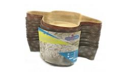Stampo COLOMBA 500 gr - 5 Pezzi - in Carta Forno Monouso - per dolci pasquali - 0,50 Kg