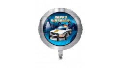 PALLONE palloncino POLIZIA in Mylar - Festa POLICE - gonfiabile ad elio o aria