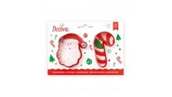 Set 2 TAGLIAPASTA NATALE natalizi - per creare fantastici biscotti o dolci