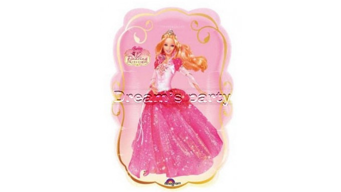 PALLONE BARBIE DANCING 64X41 CM