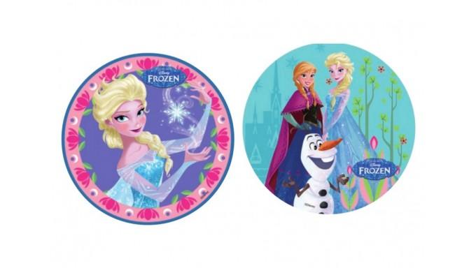 disco CIALDA in ostia FROZEN - Elsa, Anna e Olaf - per torte - 1 pezzo casuale
