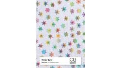 2 Fogli Carta da REGALO NATALIZZIA Instawrap Winter Burst - 50x70cm