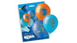 10 PALLONCINI in LATTICE - alla ricerca di Nemo - pallone per feste, COMPLEANNO