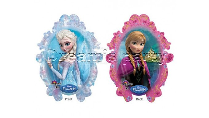 PALLONE FROZEN 63X78 DUE LATI DIFFERENTI DI IMMAGINE