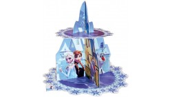 ALZATA Cupcake FROZEN - Vassoio espositivo supporto muffin - con Elsa, Anna e Olaf
