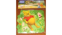 "FESTONE in carta - WINNIE THE POOH  - ""HAPPY BIRTHDAY"" - banner STRISCIONE DECORAZIONI Compleanno"