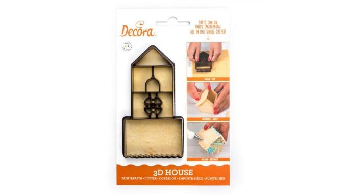 TAGLIAPASTA Casa - per creare una casetta in 3D - per biscotti, torte e dolci