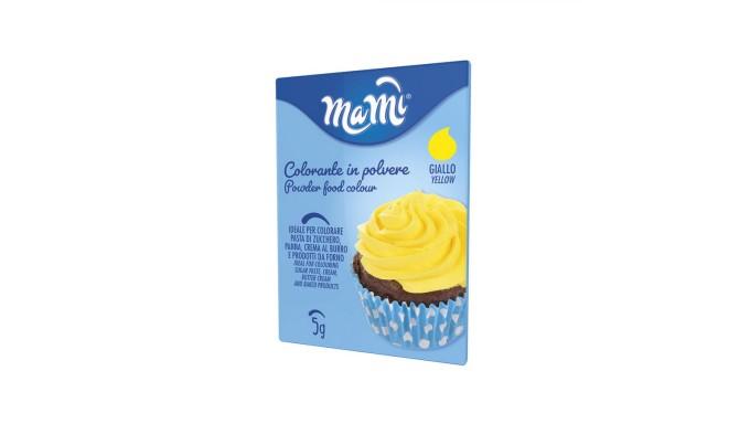 Colorante alimentare in polvere GIALLO per torte e Dolci - 5g