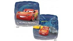 Palloncino foil mylar CARS con 2 stampe differenti - 43 cm