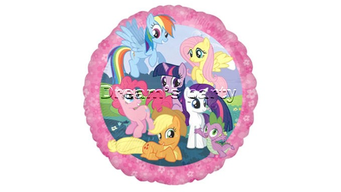 PALLONE MY LITTLE PONY 18 POLLICI
