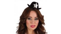 Mini Cappello Poliziotta Sceriffo - Cerchietto Frontino sexy