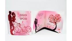 Biglietto d'auguri di Matrimonio Musicale e Luminoso (SONORO) - APRI e SOFFIA