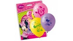 10 PALLONCINI in LATTICE Minnie - Rosa, lilla e giallo - pallone per feste, COMPLEANNO