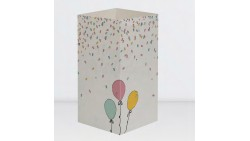 Biglietto augurale HAPPY BIRTHDAY - W-LAMP regalo che si trasforma in lampada