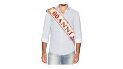 La FASCIA per i 60 ANNI - fascia idea scherzo gadget per la festa di compleanno