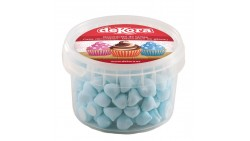 MERINGHE meringhette in Zucchero AZZURRO 90 gr - per decori torte e dolci