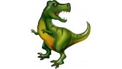 Pallone Palloncino DINOSAURO tirannosauro REX 107cm - gonfiabile ad aria o elio