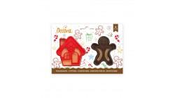 Set 2 TAGLIAPASTA NATALE natalizi - Casa e Ginger per creare fantastici biscotti