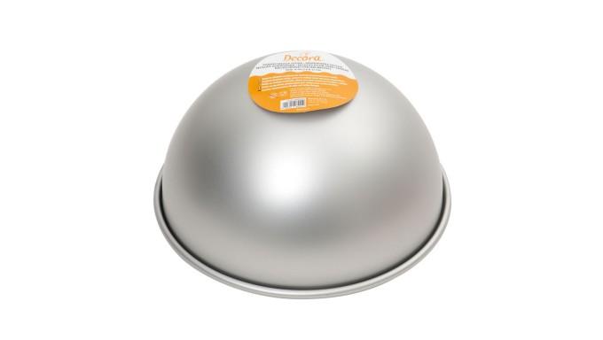 Teglia MEZZA SFERA Ø22cm - Stampo per torte e dolci in Alluminio anotizzato