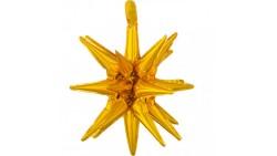 1 Pallone PALLONCINO in foil MYLAR multi MAGIC STAR stella 45X50 cm