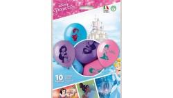 10 PALLONCINI in LATTICE Principesse Disney - pallone feste, COMPLEANNO