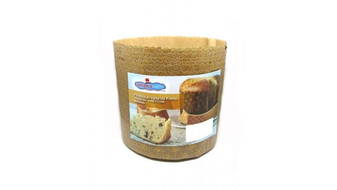 10 STAMPI stampo per PANETTONE 1 kg ALTO in carta FORMA PIROTTINO NATALE PANDORO