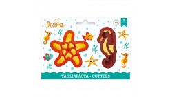 2 Tagliapasta ANIMALI Marini cavalluccio e stella - taglia biscotti Dolci, Torte