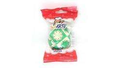 20 pirottini in carta Verde - NATALE decorazione stella di natale - Cupcake, muffin