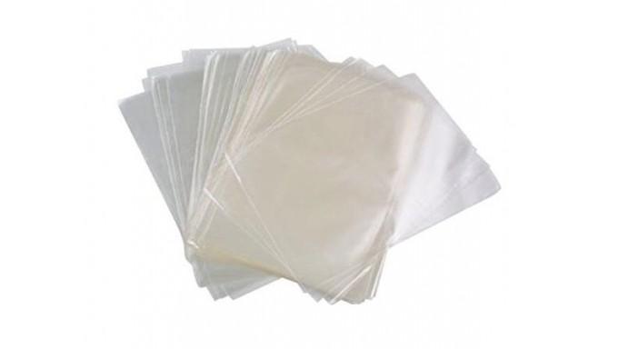 50 Bustine sacchetti Trasparenti in polipropilene per ALIMENTI 20x35cm
