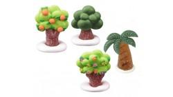 Albero - Palma in zucchero e gelatina 3D - 4 modelli - 1 soggetti casuale